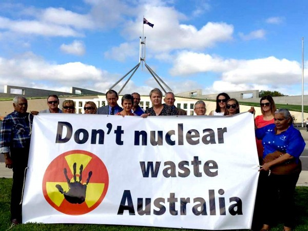 don't nuclear waste australia parlhouse